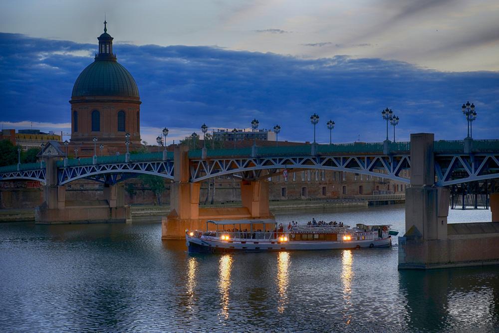 Daurade Garonne pont neuf