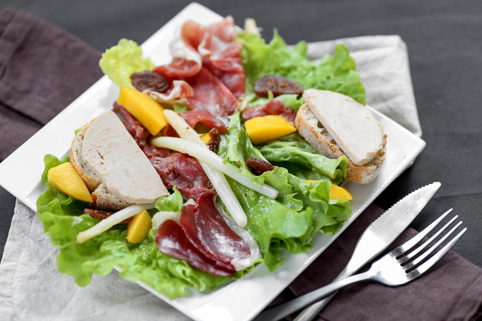 salade landaise revisite 4