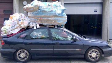 Un parisien de fait choper avec une surcharge de 400kg sur sa voiture !